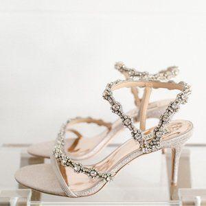 Badgley Mischka Zoe Women Heeled Sandal Crystal 9